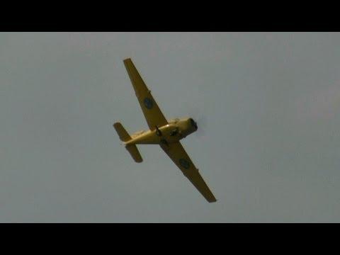 SAAB Safir på Flygkalaset 4 sept 2011