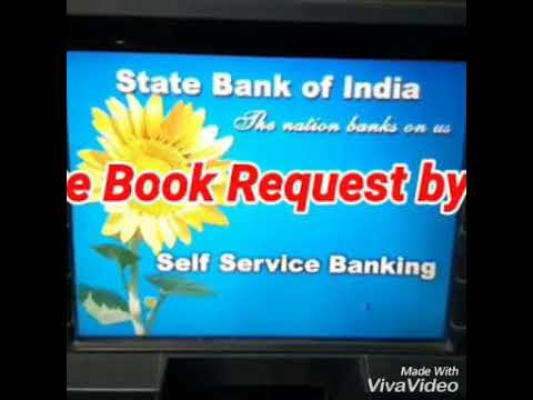 ATM SE CHEQUE BOOK KAISE APPLY KARE