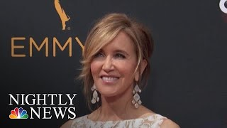 Felicity Huffman Reports To Jail To Serve Sentence In College Cheating Scandal | NBC Nightly News