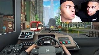 HEFTIGER AUTOBAHN UNFALL ! | Fernbus Simulator | PrankBrosGames