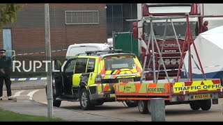 LIVE - BREAKING - from Essex as 39 bodies found inside lorry