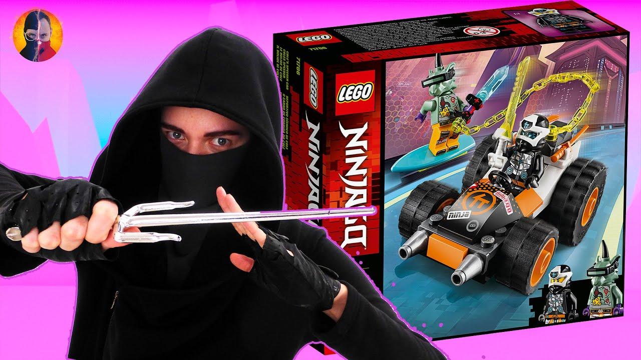 СТСН И LEGO АВТОМОБИЛЬ КОУЛА - ВСЯ СБОРКА ЦЕЛИКОМ В НИНДЗЯГО PRIME EMPIRE! 13+