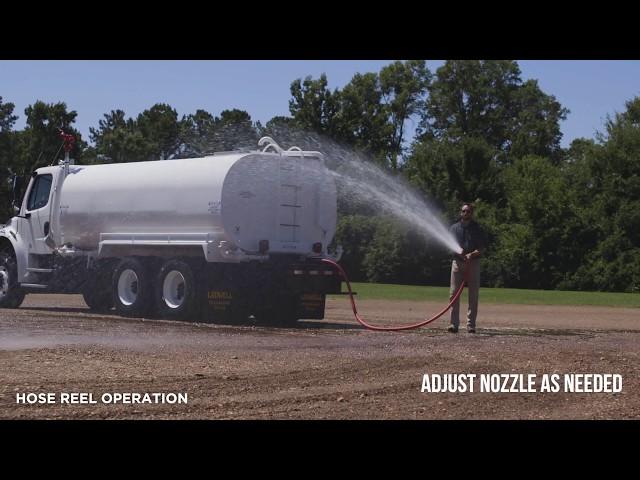 Ledwell Operational Series - Water Truck