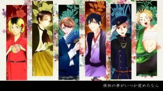 【手描き】上弦の月 【合唱】| Jougen no Tsuki [Nico Nico Chorus]