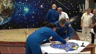 Expedition 56-57 Crew Prelaunch Activities - May 31, 2018
