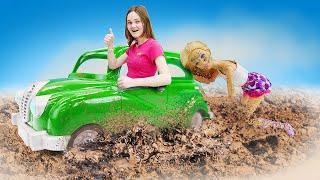 Онлайн видео с куклами – Барби и Кен: Испорченное свидание! - Новые игры для девочек.