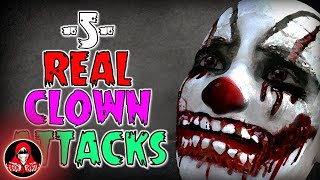 5 Scary CLOWN Attacks - Darkness Prevails