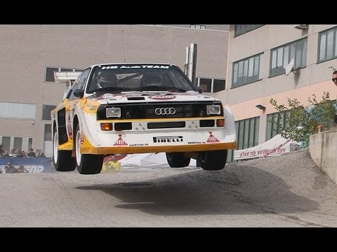 Rally Legend San Marino 2013 ( pure sound GROUPE B, jumps and actions, group B show)