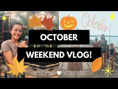 OCTOBER WEEKEND VLOG // Tourists in New Orleans, Trampolines, & more!