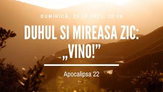 Sfânta Treime Brăila - 24 Octombrie 2021 - Iosua Faur - Apocalipsa 22
