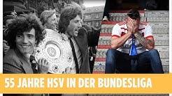 55 Jahre in 5:55 Minuten | Für HSV-Fans gegen den Abstiegs-Schmerz