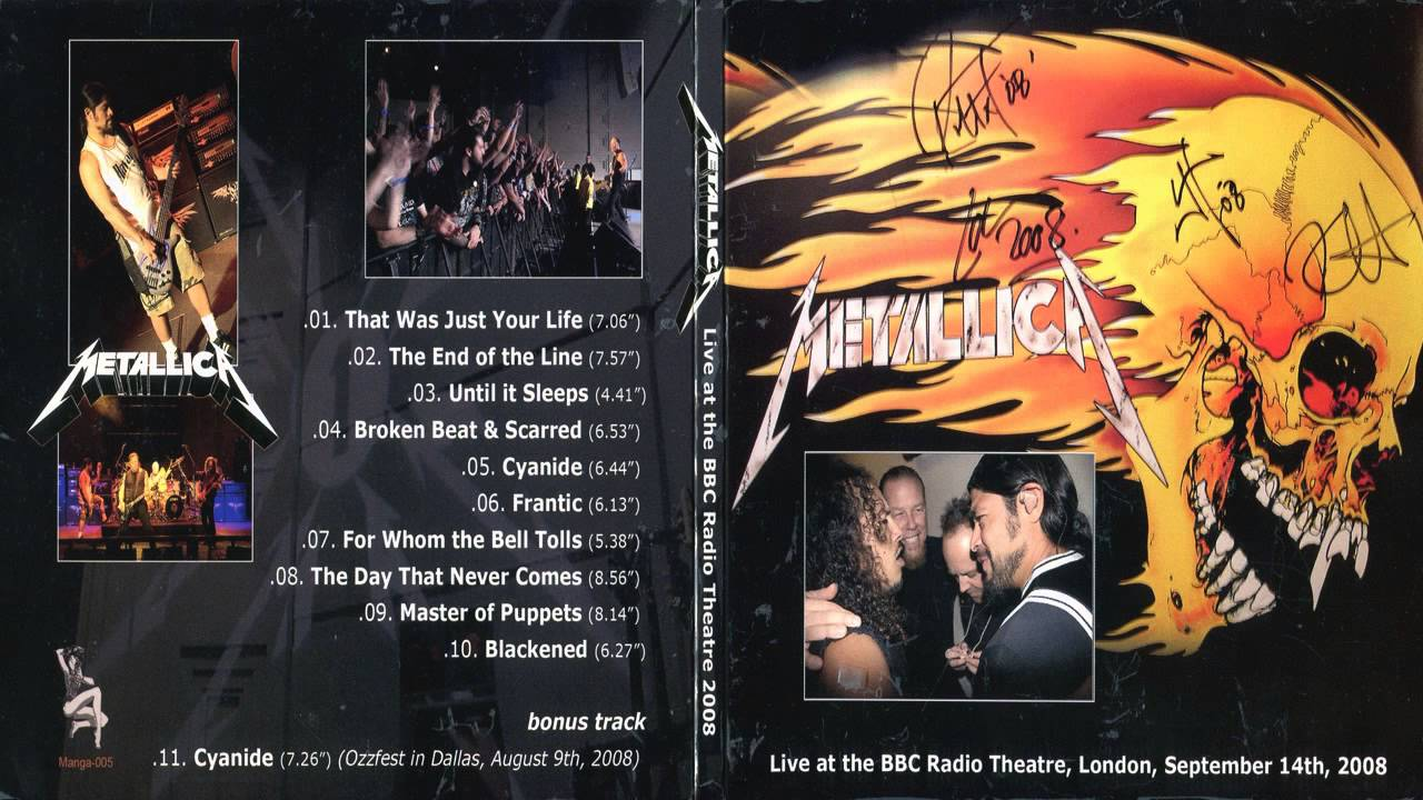 BBC - Radio 1 Presents Metallica On Air Info