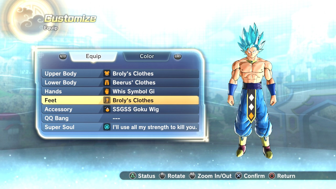 Dragon Ball Xenoverse 2 All Costumes And Accessories L Full