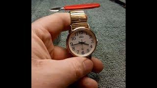Timex Watch Movement Swap