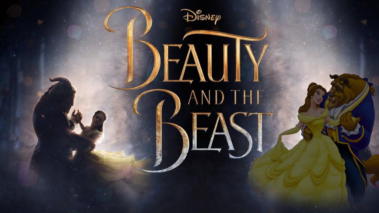 Beauty and the beast 2017 Trailer (Cartoon Style)