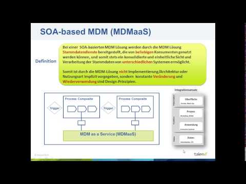 """Webinar """"Erfolgreiches Multi-Domain Stammdatenmanagement - Design, Implementierung und Betrieb"""""""