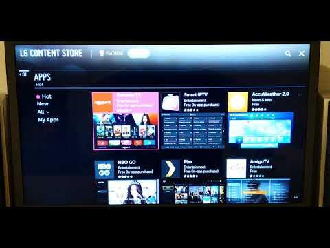 LG TV How To Update Apps / WebOS