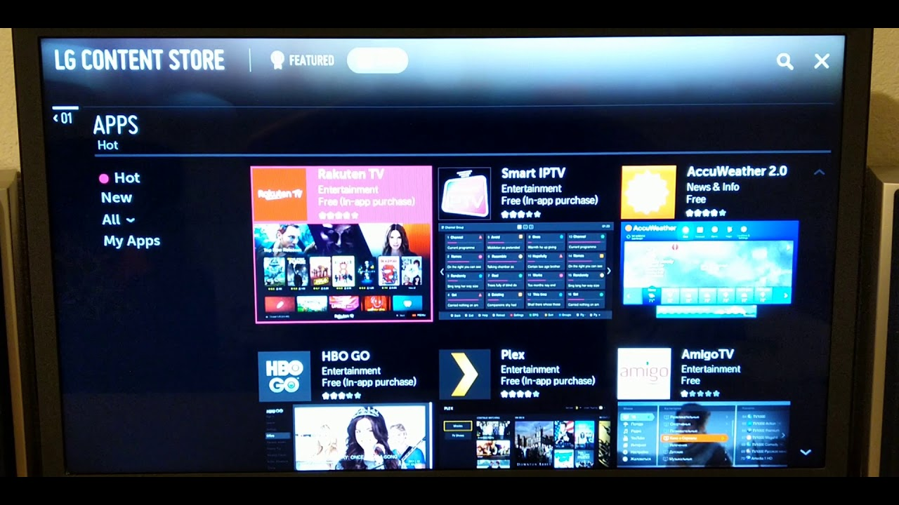 apps for webos