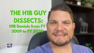 THE H1B GUY DISSECTS: H1B Denials from Fiscal Year 2009 to Fiscal Year 2020