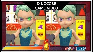 DinoCore GAME Video | SPOT THE DIFFERENCE and other games | Dinosaur Robot Animation |