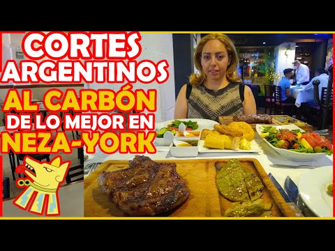 Cortes argentinos de carne - Bifes finos al carbón - Ciudad Neza