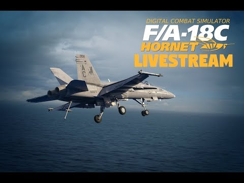 DCS F/A-18C LIVESTREAM | CASE 1 RECOVERY PRACTICE | RATE MY TRAPS!