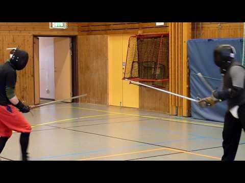 steel longsword vs rapier & dagger historical european martial arts