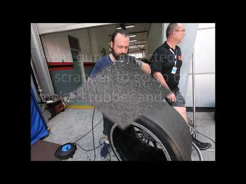Race Tyres cleaning