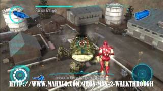 Iron Man 2 Walkthrough - Mission 2: Roxxon Armiger Boss Fight Part 1