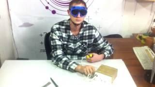 Сварка дуговая(Дуговая сварка с графитовым стержнем. Испытания прототипа. http://razoom.space/ razoom.space@gmail.com., 2016-10-04T12:36:38.000Z)