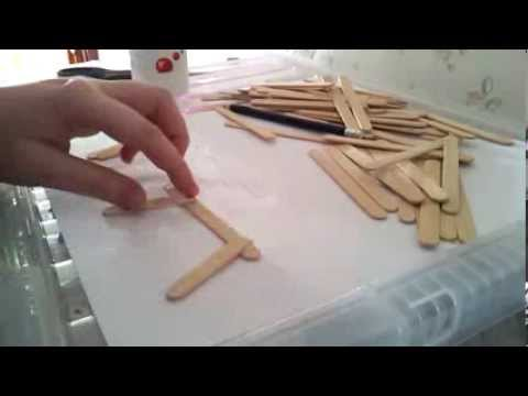 diy hamster toy popsicle stick chair youtube rh youtube com