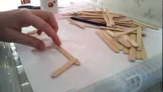Diy Hamster Toy: Popsicle Stick Chair
