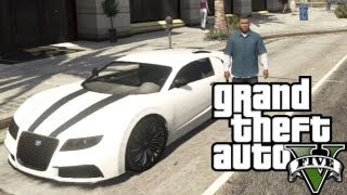 ★ GTA 5 - How to Get a Bugatti Veyron | Location