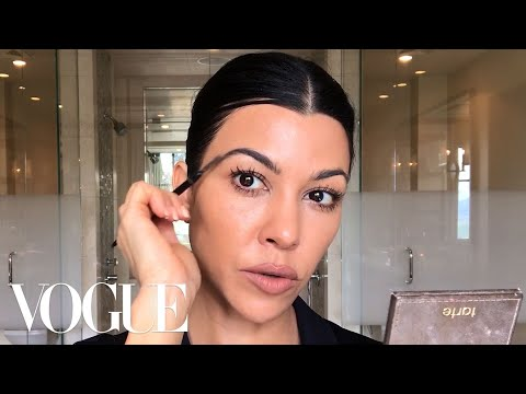 Kourtney Kardashian's Guide to Natural-ish Masking and Makeup  Beauty Secrets  Vogue