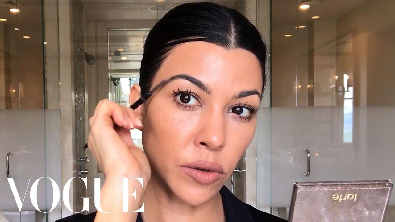 [VIDEO] – Kourtney Kardashian's Guide to Natural-ish Masking and Makeup   Beauty Secrets   Vogue