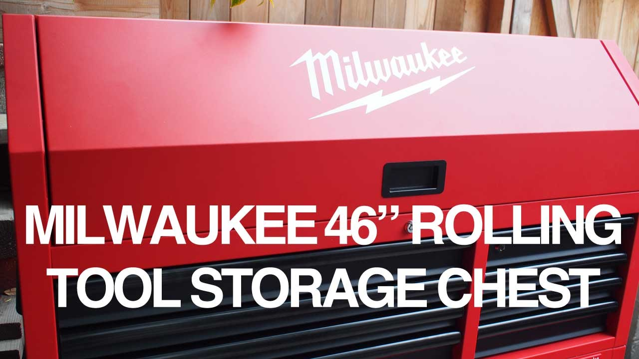 Milwaukee Tool Rolling Tool Storage Chest Review   YouTube