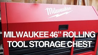 Milwaukee Tool Rolling Tool Storage Chest Review