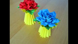 Blumenständer/ DIY / Origami