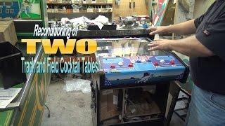 #782 Centuri/konami Track And Field Cocktail Table Arcade Video Game-rare! Tnt Amusements