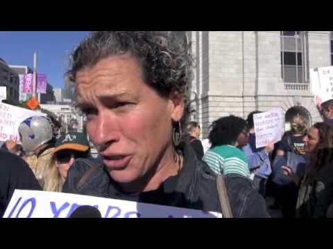 UESF Teachers/Staff Protest For  Living Wages at SFUSD Bd: Housing Costs Driving Teachers Out Of SF