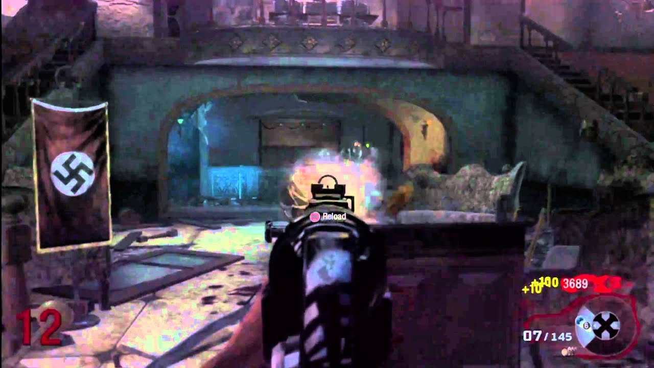 COD Black Ops Zombies - Single Player - Game Play [3/4] - YouTube