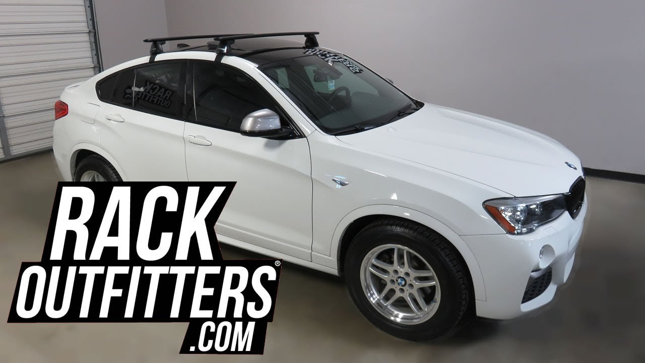 Bmw X4 With Yakima Baseline Jetstream Roof Rack Crossbars