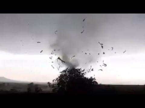 Торнадо в Ереване. Армения