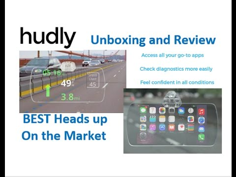HUDLY Heads Up Display Unboxing and Full Review***** 5 STAR HEADS UP DISPLAY. BEST ON THE MARKET
