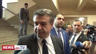 Կարեն Կարապետյանը՝ Սերժ Սարգսյանի հետ հարաբերությունների մասին