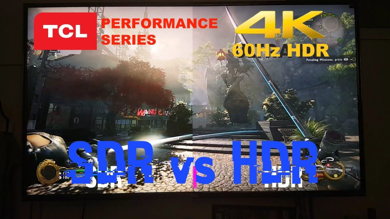 TCL P Series How to get 4k HDR 60Hz TCL 55p605