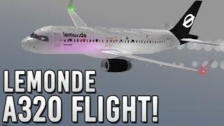 ROBLOX   LeMonde A320 Reopening Flight!