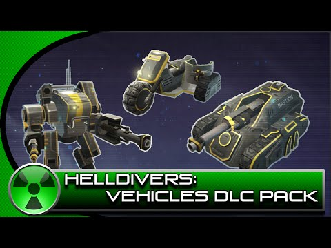 Helldivers: Is the Vehicles DLC Pack Worth it?
