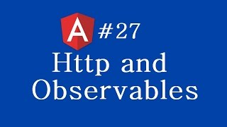 angular 2 tutorial 27 http and observables