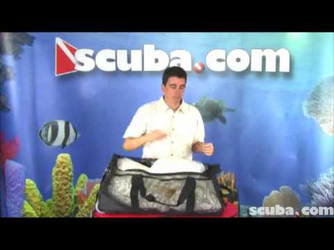 XS Scuba Wheeled Mesh Duffel Bag Video Review